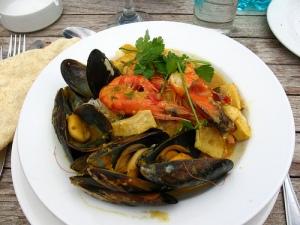 La Vista seafood dish   Vilseskogen via Compfight cc